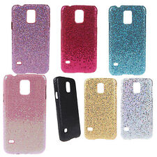 PC Hard Mobile Phone Glitter Back Case Shell for Samsung Galaxy S5 i9600 R9T5