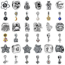 European Sterling 925 Silver Charms Beads for Jewelry Bracelet Chain Necklace
