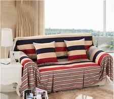 100% Cotton L-Shaped Sofa Lounge Couch Cover Protector for 1 2 3 4 seater kbt
