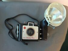 Vintage Eastman Kodak Brownie Holiday FlashCamera Bakelite Kodalite Midget Flash