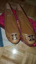 tory burch ballet flats royal tan size 7