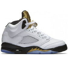 NEW NIKE Air Jordan 5 Retro Olympic Gold Coin LIMITED EDITION Sneaker 440888 133
