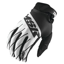 2016.5 MSR Youth Axxis Gloves Black White Grey Motocross BMX Atv Answer Racing