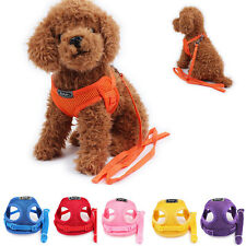 Pet Control Harness For Dog Puppy Cat Soft Air Mesh Walking Collar Strap Vest