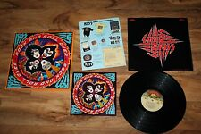 KISS LP Album Rock And Roll Over 1st Pressing With Inserts