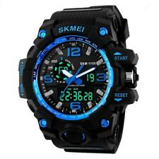 Skmei Military Quartz Watch Waterproof Analog Digital Wristwatch Chronograph