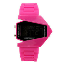 Multi-function Unisex Electronic Aircraft Wrist Lover Colorful LED Sport Watch P