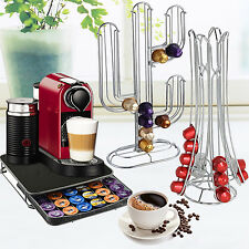 COFFEE 36 40 CAPSULE POD HOLDER RACK STORAGE TOWER DRAWER NESPRESSO DOLCE GUSTO