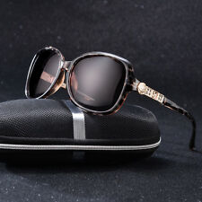 Women Brand Fashion Rhinestone Polarized Sunglasses Driving Sport Eyewear Shades