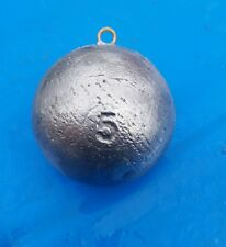 5lb downrigger balls, cannon ball, sinkers, lead, fishing weights