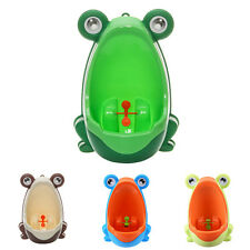Baby Boy Toddler Cute Frog Training Urinal Potty Bathroom Kid Pee Trainer Toilet