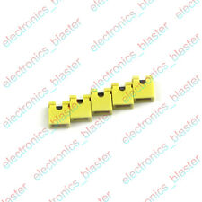 100pcs Yellow Red Blue Pitch Jumper Cap Header Pin Shunt 2.54mm
