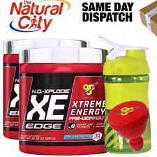 BSN No Xplode XE Edge 30 serves x 2 pre workout -FREE BSN Funnel+ Stylish Shaker