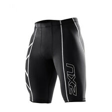 2XU Men Compression Tights Fitness Shorts Running Sports Gym Cycling Shorts