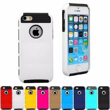 PC Shockproof Dirt Dust Proof Hard Cover Case For Apple iPhone 5 5S