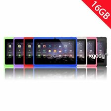 "XGODY 7"" Tablet PC HD Touch Quad Core Android 4.4 Kids Pad Bundled 8GB TF Card"