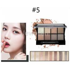 8 Colors Make Up Eye Shadow Shimmer Matte Eyeshadow Palette with Applicator