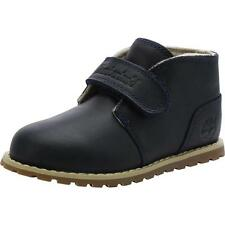 Timberland Pokey Pine Chukka Infant Dark Blue Leather Ankle Boots