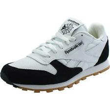 Reebok Classic Leather Perfect Split Youth White/Black Leather Trainers