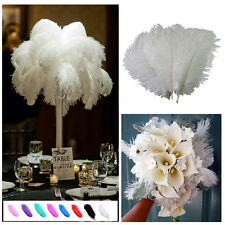 1~10pcs Wholesale High Quality Natural  Ostrich Feathers Wedding Party 15-30 ft