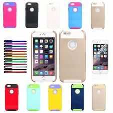 Shockproof Dirt Dust Proof Hard Cover Case For Apple iPhone 6 6s 4.7""