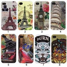 Personal Silicone Rubber TPU Soft Skin Case Cover For iPhone 4 4s