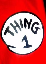 Thing1 and Thing 2 T-shirts Thing one Thing two adult youth infant Thing shirts