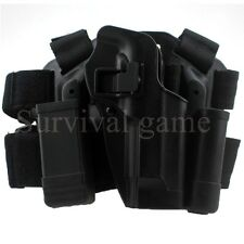 Tactical M92 Leg Holster Right Hand Paddle Thigh Belt Drop Pistol Gun Holster