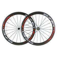 SAPIM CX-Ray Spokes CARBON Wheelset Clincher 700C 50MM Road Bike Racing Wheels