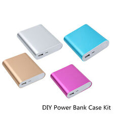 4X 18650 5V 2.1A USB Power Bank Case Kit Battery Charger DIY Box For Smart phone