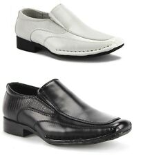 New Infants Boys Toddlers I-140 Classic Formal Suit Slip On Dress Shoes Loafers