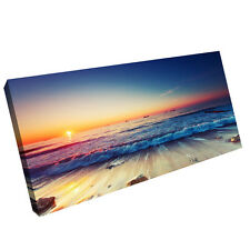"HD Print on Canvas Painting Home Decoration Wall Art beach scenery ""60x105cm"""
