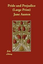 Pride and Prejudice Jane Austen The Wildhern Press large type edition Anglais