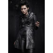 Punk Rave Antichrist Military Trench Coat [Special Order] - Gothic,Goth,Black,Ja