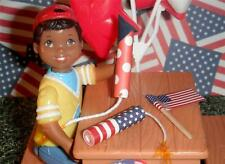 Fireworks Set with American Flag fits Fisher Price Loving Family Dollhouse LotA