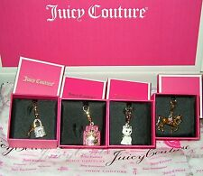 "NEW JUICY COUTURE CHARM IN ""JUICY"" PINK GIFT BOX ~ FREE SHIPPING"