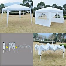 EZ Pop Wedding Gazebo Tent Party Event Canopy Backyard Cover Small 10X10 White