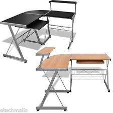 Adjustable  Office Desk Computer Desk Study Table Furniture With Keyboard Tray
