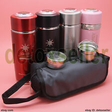 Quantum Alkaline Filtered Water Cup Bio Energy Ionizer Flask Bottle Health Gift