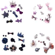 Infant Boutique Hair Bow Mixed Design Toddler Hair Clips Set Baby Shower