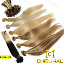 16-22Inch Keratin nail U-tip Ombre 100% Remy Human Hair Extensions 1.0g/s 50S