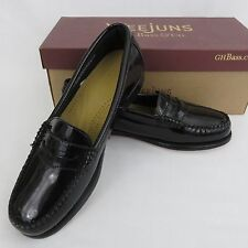 Bass Weejuns Diane Penny Loafer Black Patent Leather Ladies Shoes 7M - 8.5M NIB