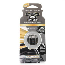 Yankee Candle New Car Scent Car Vent Clip