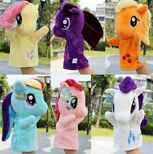 My Little Pony Figures Hand Glove Puppets Plush Doll Kids Girls Boys Baby Toy