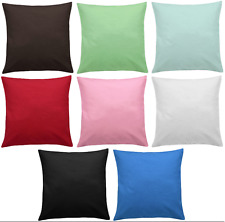 Plain Dyed Cushion Covers with Cushion