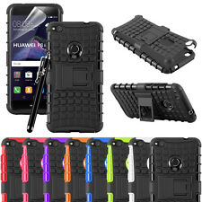 Huawei P8 Lite 2017 Case Heavy duty Hybrid Rugged Shockproof Hard Case Cover