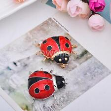 Cute Lady Bird Beetle Brooch Pin Animal Insect Lover Fashion Jewelry Fashion