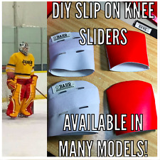 Hockey Goal Pad SLIP-ON KNEE SLIDERS KIT - REEBOK/CCM/KOHO TYPE II