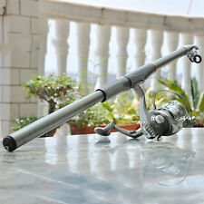 2.1/2.4/2.7M Carbon Fiber Telescopic Sea Fishing Rod Spinning Pole ABELE