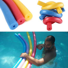 Fun Swimming Pool Floating Foam Water Hollow Noodle Kids Adult Float Swim Aid
